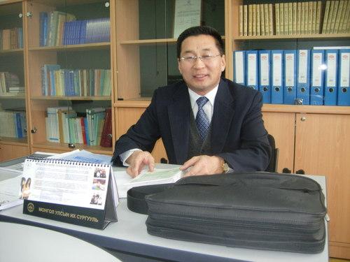 My Mongolian Teacher, Munkh-Amgalan