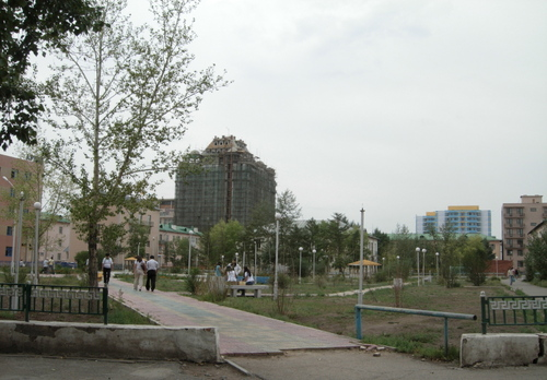 One example of a city park